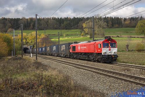 DE 6314 . Crossrail . Z 42587 . Hombourg . 11.11.20.