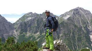 Stefan mit Kletterzeug