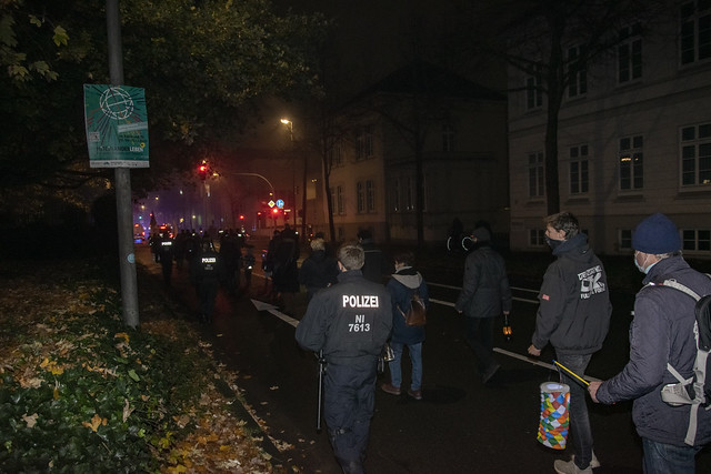 Querdenken Demo Oldenburg 11.11.2020