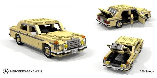 Mercedes-Benz W114 250 Saloon