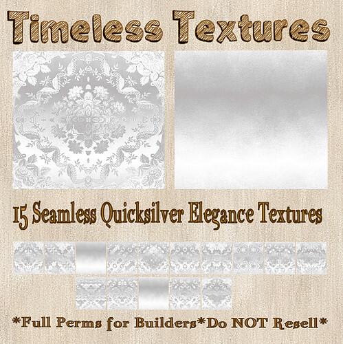 TT 15 Seamless Quicksilver Elegance Timeless Textures