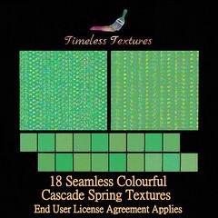 TT 18 Seamless Colourful Cascade Spring Timeless Textures