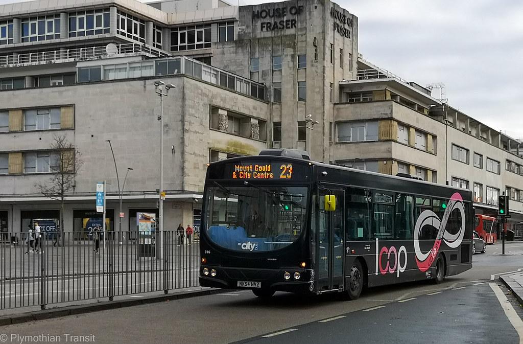 Plymouth Citybus 376 NK54NVZ