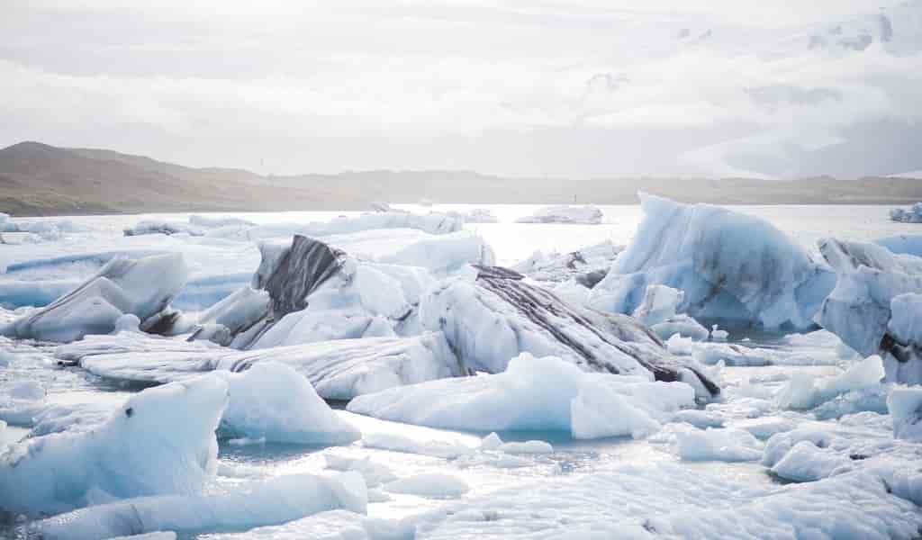 Des courants d'air font fondre de la glace en Antarctique