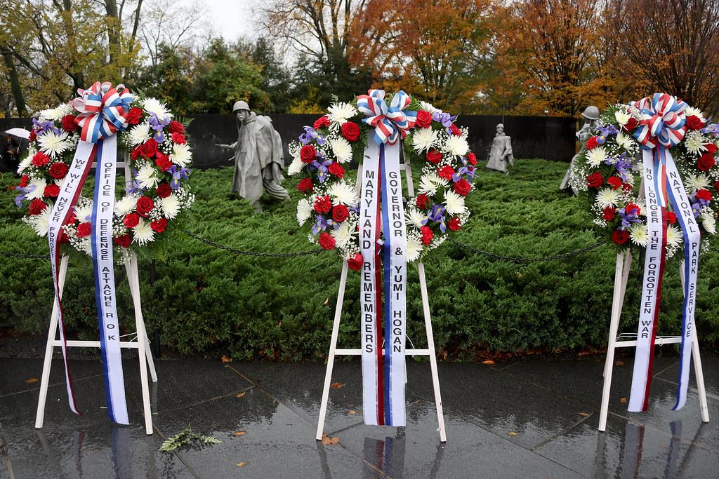 Korean War Veterans Memorial Foundation Veterans Day Observation