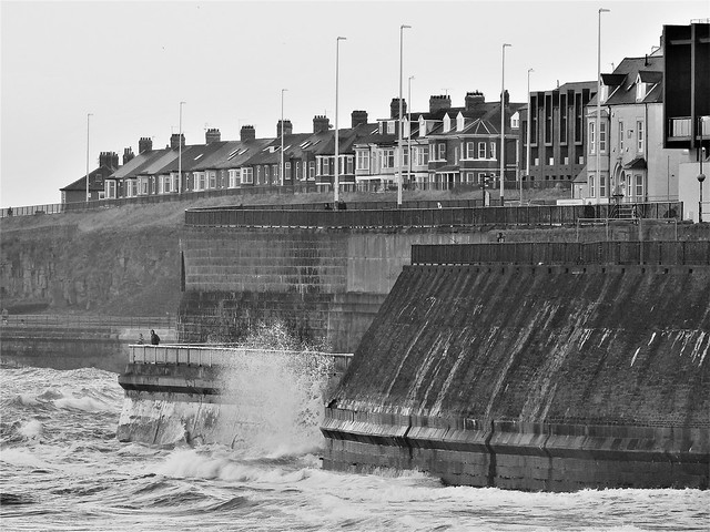 Whitley Bay Sea-Front - Sea Defences