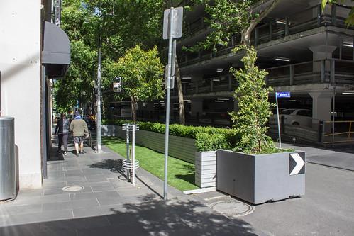 Parklet on Little Collins Street, Melbourne