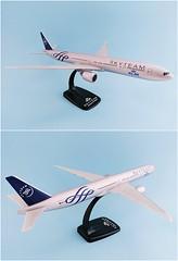 KLM - Royal Dutch Airlines - Skyteam Scale 1-200 model Boeing B777-300ER #02.02 PH-BVD
