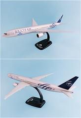 KLM - Royal Dutch Airlines - Skyteam Scale 1-200 model Boeing B777-300ER #02.01 PH-BVD