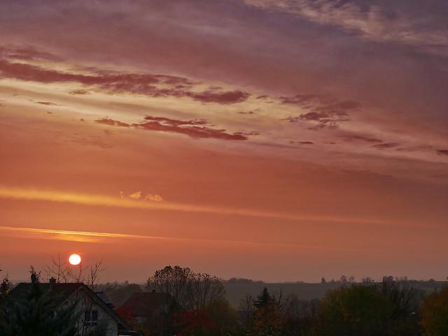 Foggy Sunrise (in explore 2020-11-12)