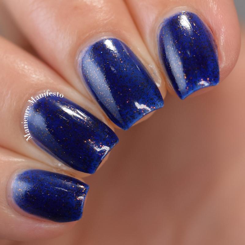 Girly Bits Cosmetics Cu Blue Review