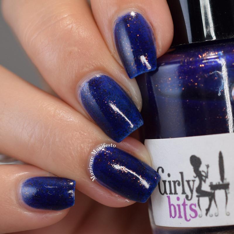 Girly Bits Cosmetics Cu Blue