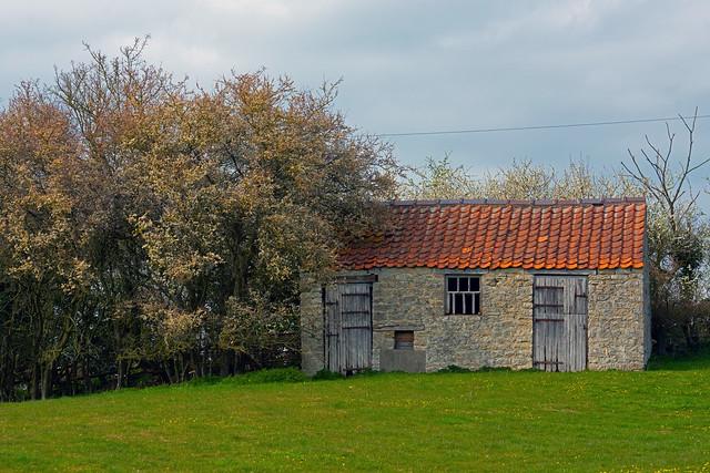 Red Roof & Grey Doors