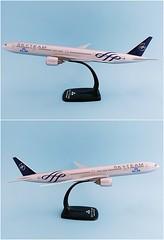 KLM - Royal Dutch Airlines - Skyteam Scale 1-200 model Boeing B777-300ER #02.03 PH-BVD