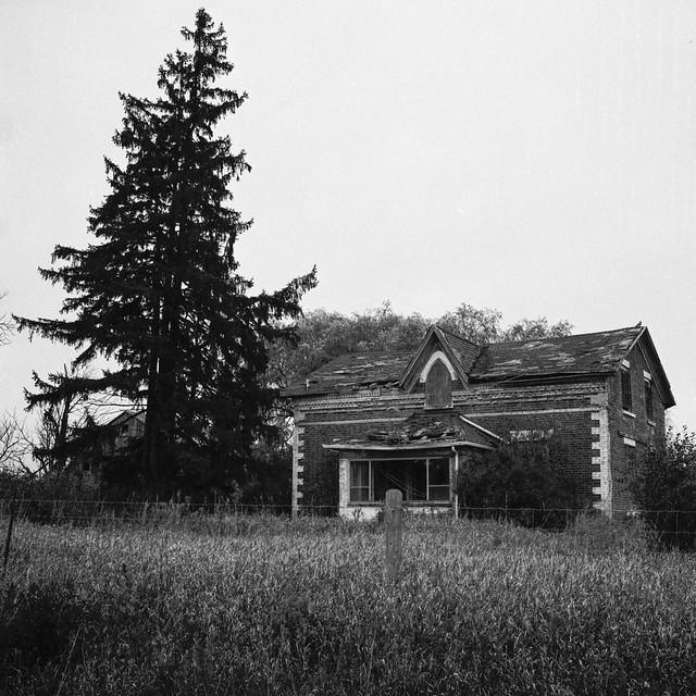 Abandoned HIghway 10 House Caledon One_