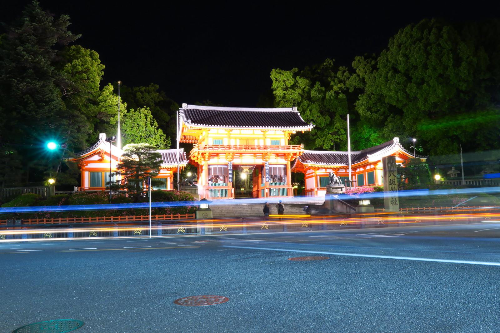 想回到過去系列 舞妓與千本鳥居外的京都日與夜Pt 2  円山公園(Maruyama Koen) ,八坂神社(Yasaka-jinja)與地靈人傑可愛和服女生