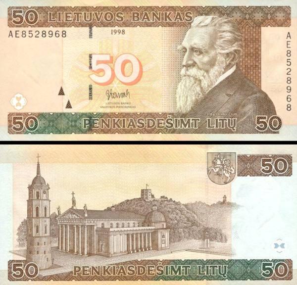50 Litu Litva 1998, P61