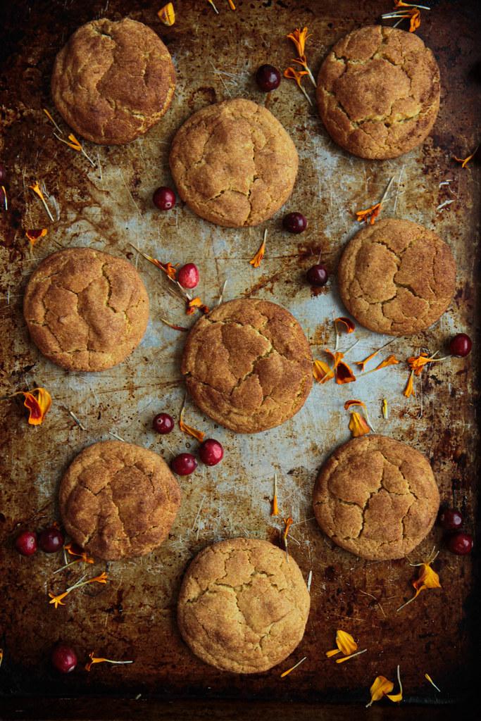 Pumpkin Snickerdoodles (Vegan and Gluten-free)