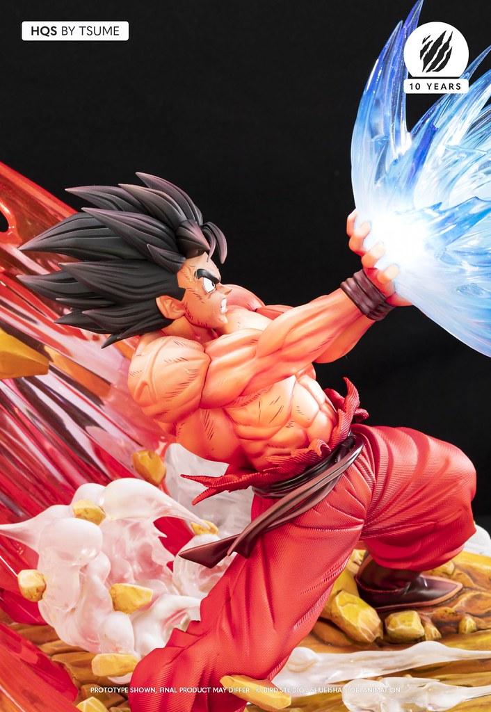 Tsume-Art HQS《七龍珠Z》超魄力「界王拳悟空」1/6比例場景雕像 四倍霸氣全開!