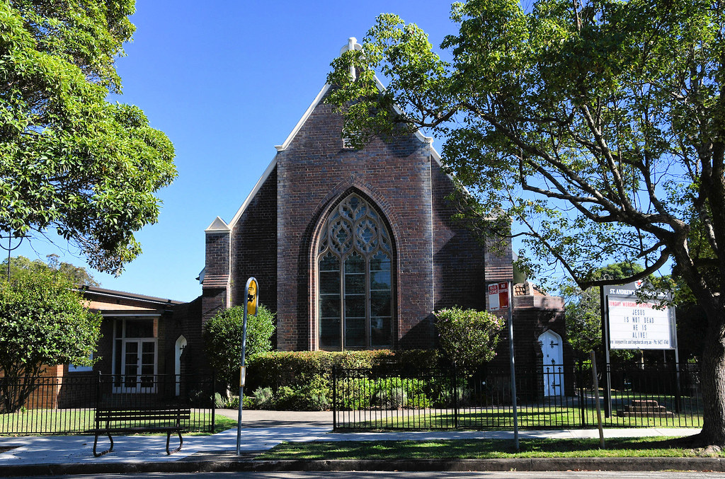 St Andrew's Uniting Church, Longueville, Sydney, NSW.