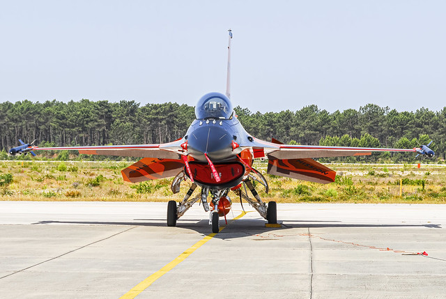 Royal Netherlands Air Force F-16 Solo Display Team
