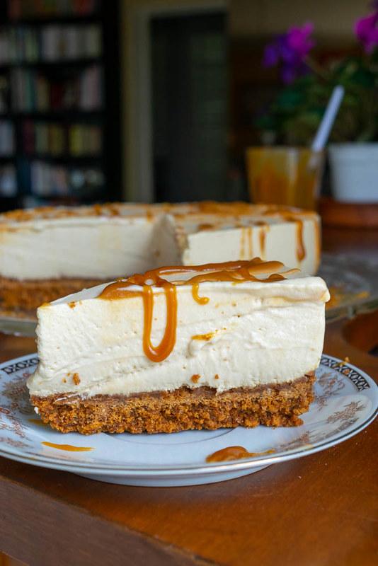 cheesecake au caramel (toffee chesecake) 1