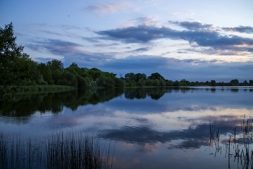 canon6d landscape nature outdoors outside uk cambridgeshire lake water reflections sky clouds