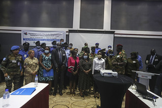 Need for security sector reforms key, says Angelina Teny, South Sudan Minister of Defence | by UNMISS MEDIA