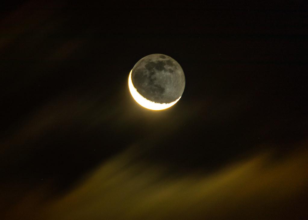 Earthshine Nov 12