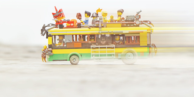 Updated LEGO Zombie Apocalypseburg City Bus MOC (2)
