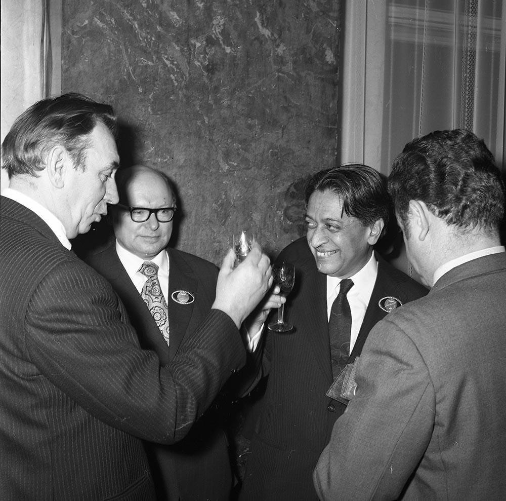 1973. Президент Всемирного Совета Мира Ромеш Чандра
