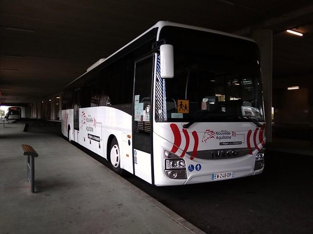 Iveco Crossway Line €6 n°248 - SCODEC - Réseau RDS (Ligne R1)