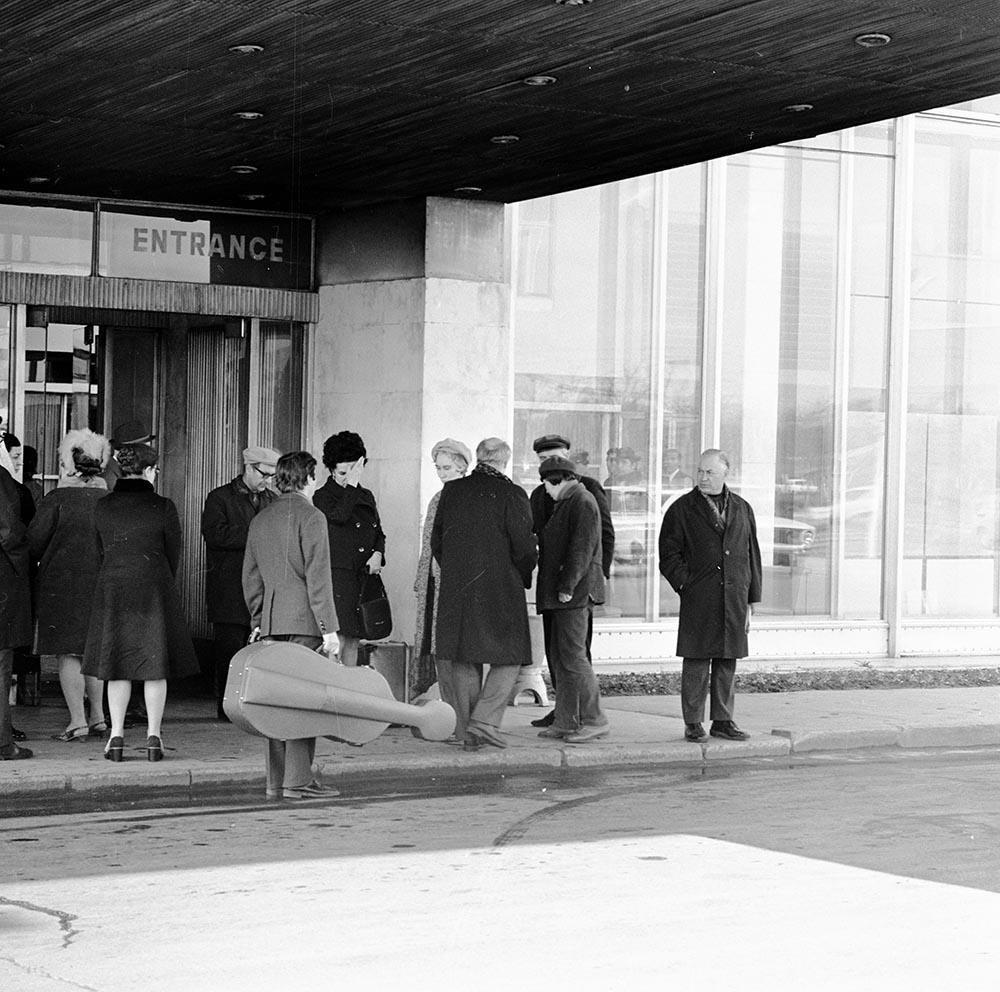 1974. Проводы Ростраповича. Аэропорт Шереметьево