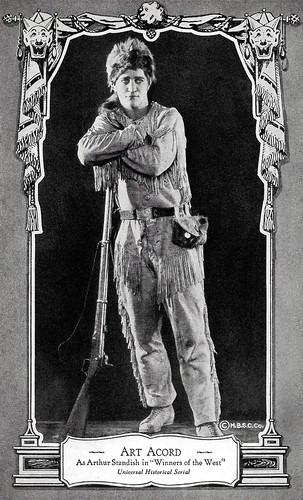 Art Acord in Winners of the West (1921)