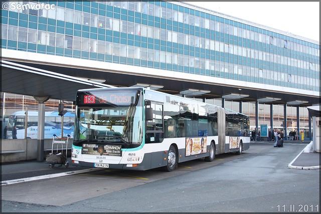 Man Lion's City G – RATP (Régie Autonome des Transports Parisiens) / STIF (Syndicat des Transports d'Île-de-France) n°4618