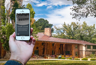 The app that lets you explore Los Alamos in New Mexico as it was during the Manhattan Project.