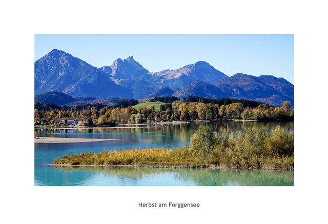 Herbst am Forggensee