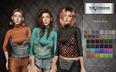 KiB Designs - Tirsha Top @Fashion Essentials