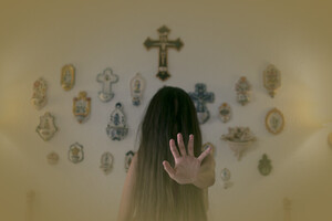 Exorcism in ghost lore