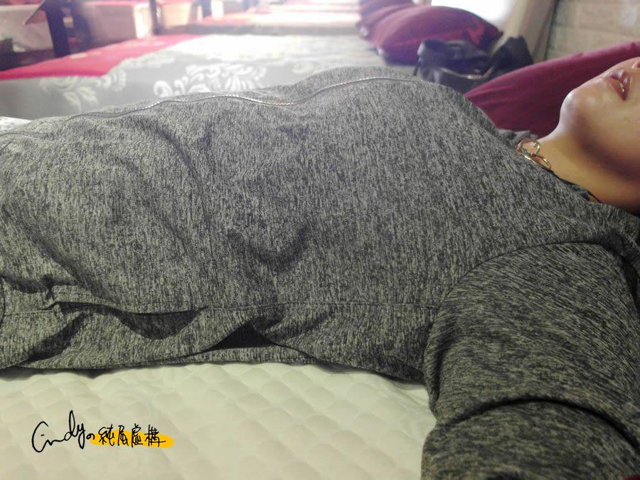 五股床墊挑選:親自試躺