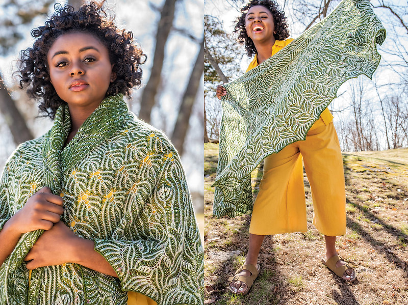 The Susurrate Shawl by Cara Davis Conomos