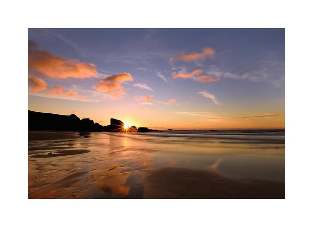 Porthcothan Beach Sunset...
