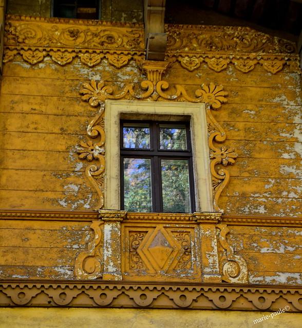 Fenster im Schweizer Haus in Klein Glienicke