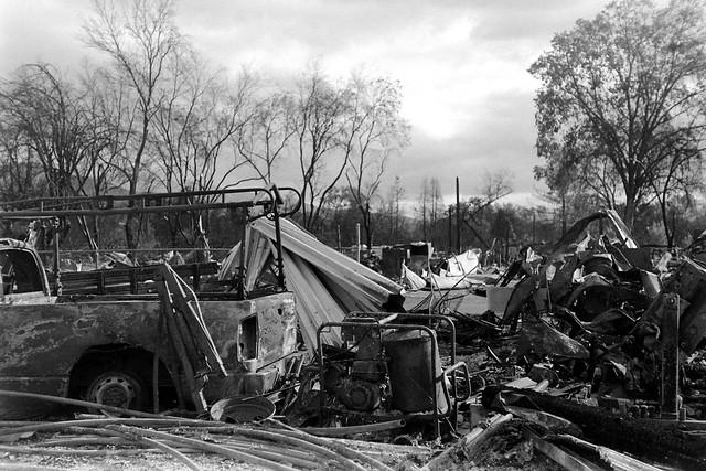 Burned Landscape of Phoenix