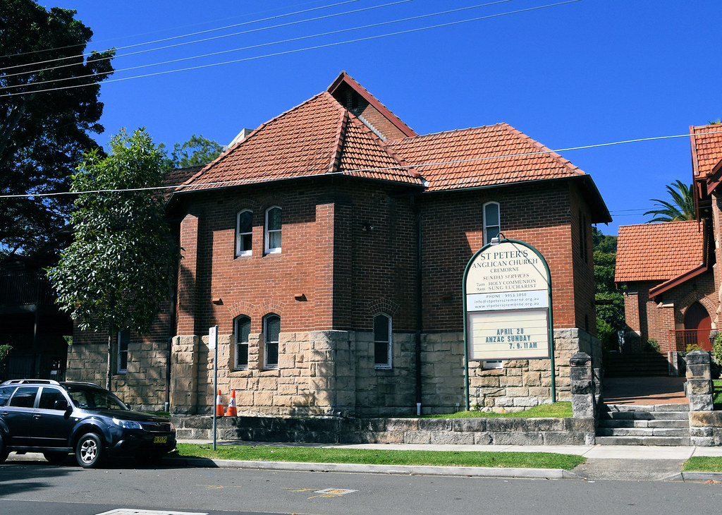 St Peter's Anglican Church, Cremorne, Sydney, NSW.