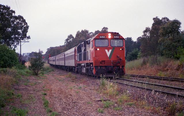 N454, an Overland regular