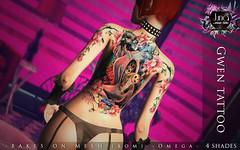 Gwen tattoo