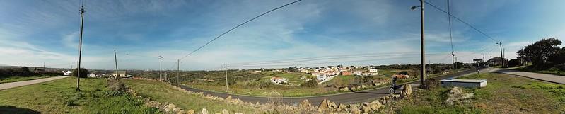Região de Igreja Nova próximo a Sintra e Torres Vedras