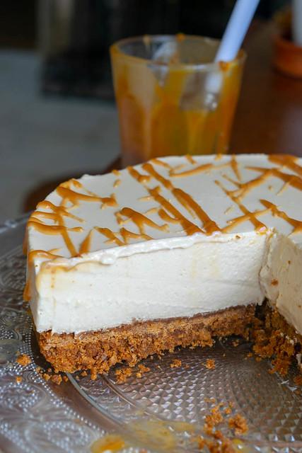 cheesecake au caramel (toffee chesecake) 2