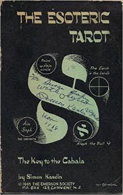 The Esoteric Tarot - The Key to the Cabala - Simon Kasdin